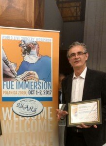 <strong>Dr. Mauro Speranzini</strong> no World Live Surgery Workshop : FUE Immersion